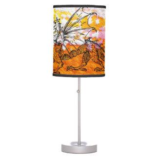 Primping Dragon Desk Lamps