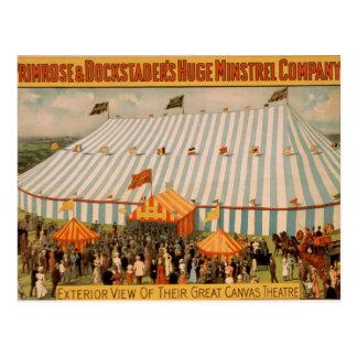 Primrose & Dockstader's Huge Ministrel Company Postcard