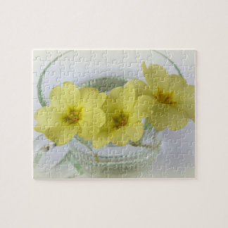 primrose in a coffee cup jigsaw puzzle