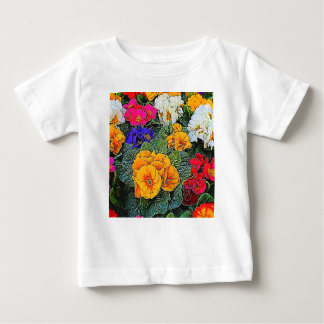 primrose in the garden baby T-Shirt