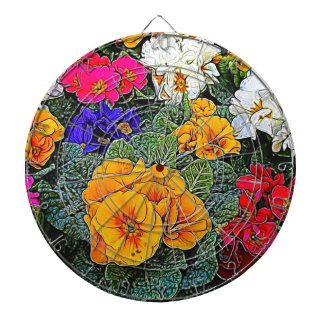 primrose in the garden dartboard