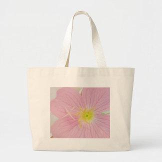 primrose pink large tote bag