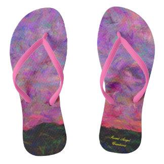 Primrose Sunset Flip Flops