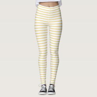 Primrose Yellow Stripes Leggings