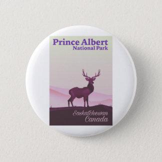 Prince Albert National Park, Saskatchewan, Canada 2 Inch Round Button