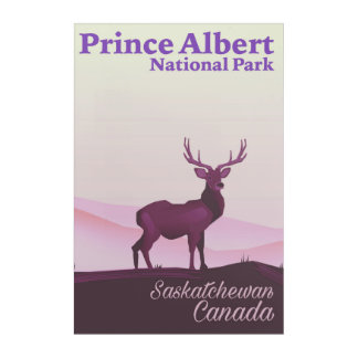 Prince Albert National Park, Saskatchewan, Canada Acrylic Wall Art