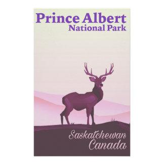 Prince Albert National Park, Saskatchewan, Canada Stationery