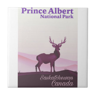 Prince Albert National Park, Saskatchewan, Canada Tile