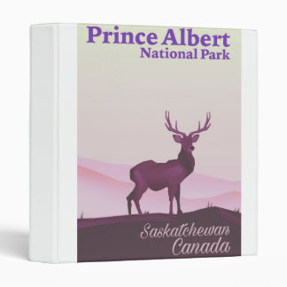 Prince Albert National Park, Saskatchewan, Canada Vinyl Binders