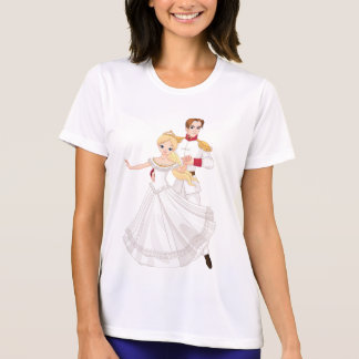 Prince And Princess Dance Womens Active Tee