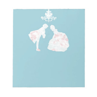 prince and princess notepad