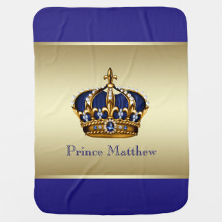 Prince Baby Blanket