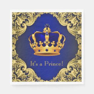Prince Baby Shower Napkins Paper Napkin