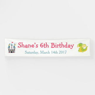Prince Birthday Party Banner