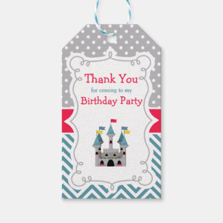 Prince Birthday Party Gift Tag
