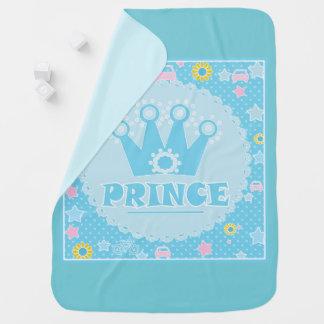 Prince .blue baby blanket