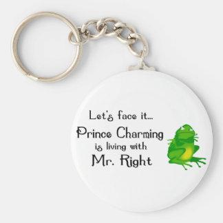 Prince Charming Keychain