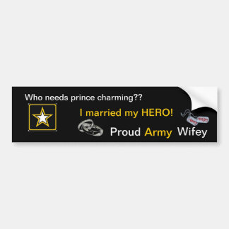 Prince charming or HERO? Bumper Sticker