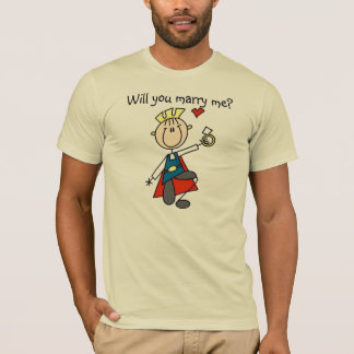 Prince Charming Will You Marry Me Shirt
