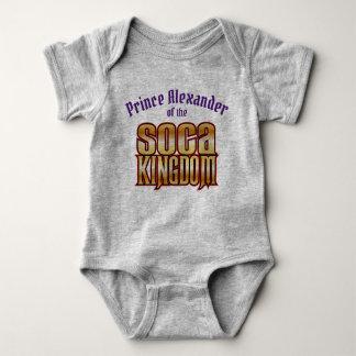 Prince (Child's Name) of the Kingdom Baby Bodysuit