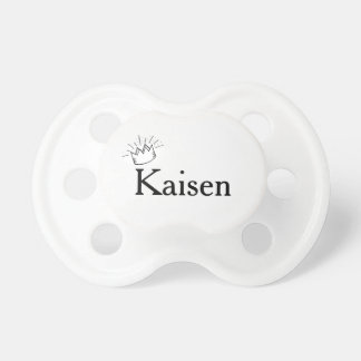 Prince Crown personalized Baby Pacifiers