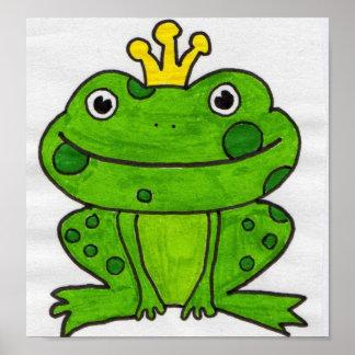 Prince de grenouille affiche