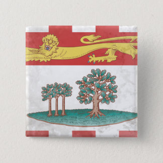 Prince Edward Island 2 Inch Square Button
