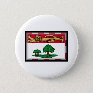 Prince Edward Island Flag 2 Inch Round Button