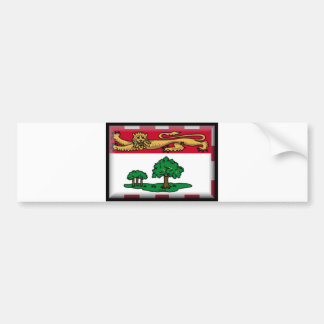 Prince Edward Island Flag Bumper Sticker
