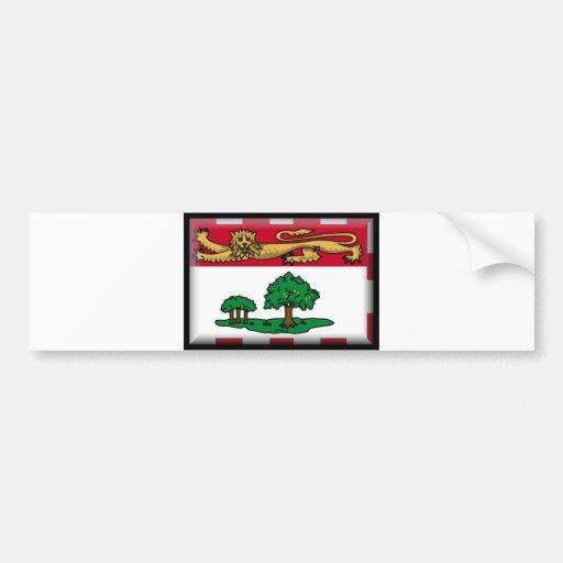 Prince Edward Island Flag Bumper Stickers