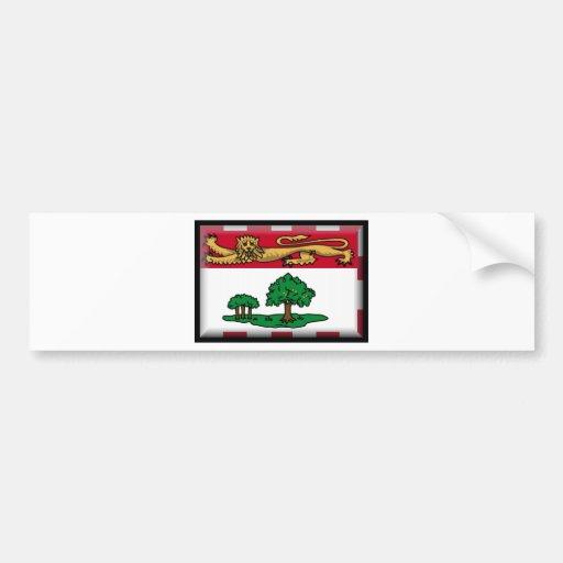 Prince Edward Islands (Canada) Flag Bumper Stickers