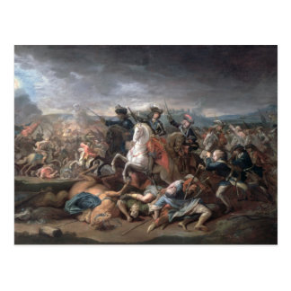 Prince Eugene of Savoy  at the Siege of Postcard