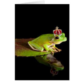 Prince frog card