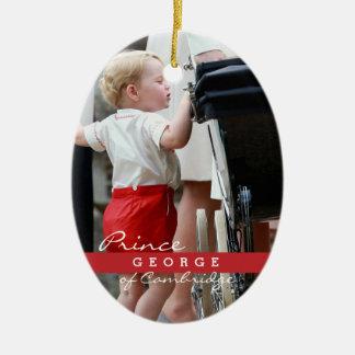 Prince George of Cambridge Ceramic Ornament