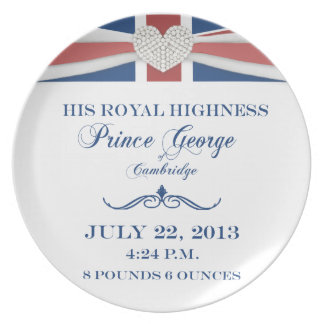 Prince George of Cambridge Keepsake Plate 2013