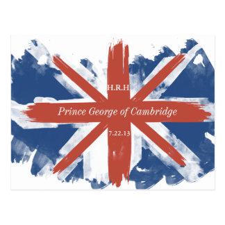 Prince George of Cambridge Souvenir Post Card