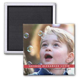 Prince George of Cambridge Square Magnet