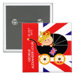 Prince George Royal Baby Button