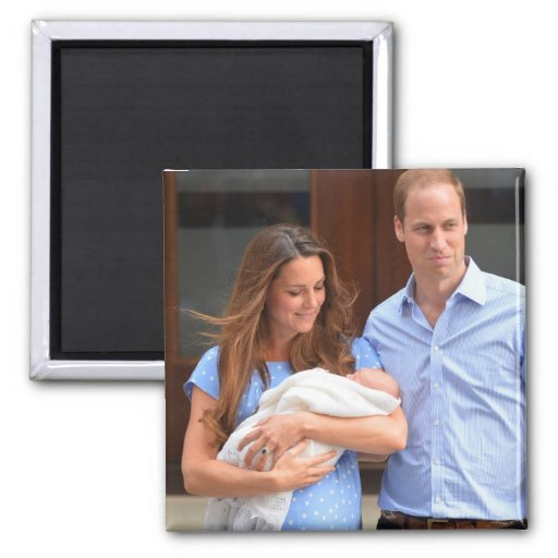 Prince George Royal Baby Magnets