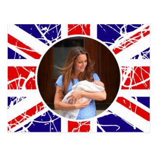 Prince George Royal Baby Post Card