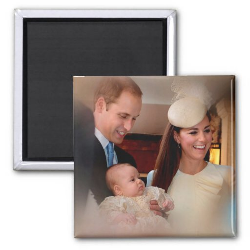 Prince George Royal Family Refrigerator Magnet