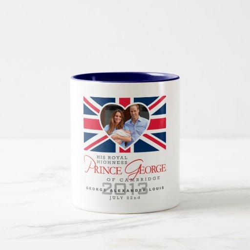 Prince George - William & Kate Mug