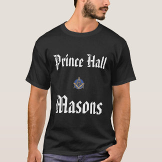 Prince Hall Basic Black Tee