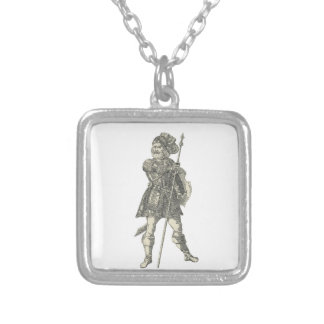 Prince Henry of Portugal Silver Plated Necklace