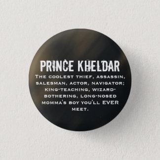 Prince Kheldar 1 Inch Round Button