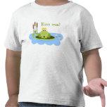 Prince Kiss Me de grenouille T-shirt