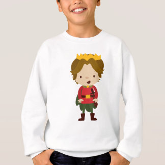Prince Liam from Fairy Tale Kingdom Sweatshirt