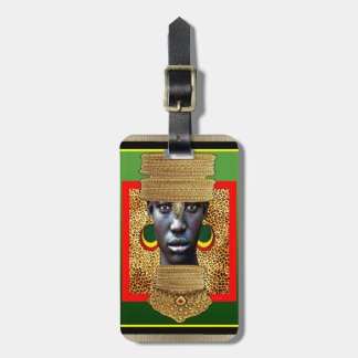 Prince of Gold Luggage Tag