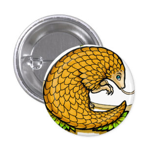 Prince of Pangolins Button