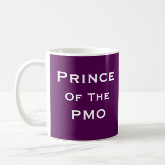 Prince of PMO Man Project Manager Funny Nickname Coffee Mug